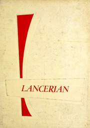 Lancaster Township High School - Lancerian Yearbook (Lancaster, IN) online yearbook collection, 1959 Edition, Page 1