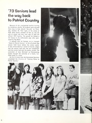 Page 12, 1973 Edition, Heritage High School - Lantern Yearbook (Monroeville, IN) online yearbook collection