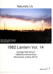 Page 5, 1982 Edition, Heritage High School - Lantern Yearbook (Monroeville, IN) online yearbook collection