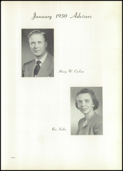 Page 15, 1950 Edition, Chaney High School - Lariat Yearbook (Youngstown, OH) online yearbook collection