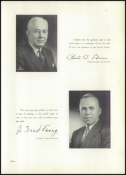 Page 9, 1950 Edition, Chaney High School - Lariat Yearbook (Youngstown, OH) online yearbook collection
