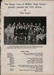 Page 5, 1952 Edition, Mifflin High School - Lasso Yearbook (Columbus, OH) online yearbook collection