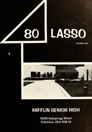 Page 5, 1980 Edition, Mifflin High School - Lasso Yearbook (Columbus, OH) online yearbook collection