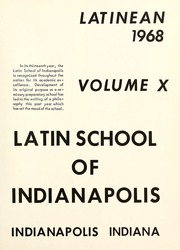 Page 5, 1968 Edition, Latin High School of Indianapolis - Latinean Yearbook (Indianapolis, IN) online yearbook collection
