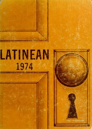1974 Edition, Latin High School of Indianapolis - Latinean Yearbook (Indianapolis, IN)