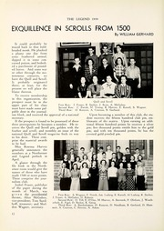Page 16, 1939 Edition, North Side High School - Legend Yearbook (Fort Wayne, IN) online yearbook collection