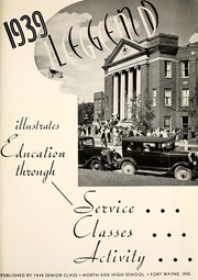 Page 5, 1939 Edition, North Side High School - Legend Yearbook (Fort Wayne, IN) online yearbook collection