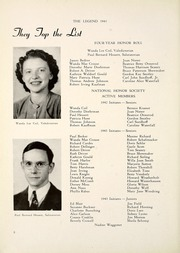 Page 12, 1943 Edition, North Side High School - Legend Yearbook (Fort Wayne, IN) online yearbook collection