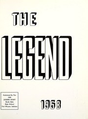 Page 5, 1958 Edition, North Side High School - Legend Yearbook (Fort Wayne, IN) online yearbook collection