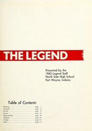 Page 5, 1962 Edition, North Side High School - Legend Yearbook (Fort Wayne, IN) online yearbook collection