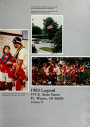 Page 5, 1983 Edition, North Side High School - Legend Yearbook (Fort Wayne, IN) online yearbook collection