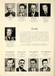 Page 14, 1953 Edition, Concordia Lutheran High School - Luminarian Yearbook (Fort Wayne, IN) online yearbook collection