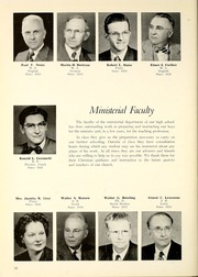 Page 16, 1953 Edition, Concordia Lutheran High School - Luminarian Yearbook (Fort Wayne, IN) online yearbook collection