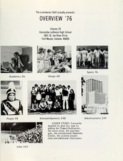 Page 5, 1976 Edition, Concordia Lutheran High School - Luminarian Yearbook (Fort Wayne, IN) online yearbook collection