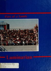 Page 1, 1982 Edition, Concordia Lutheran High School - Luminarian Yearbook (Fort Wayne, IN) online yearbook collection