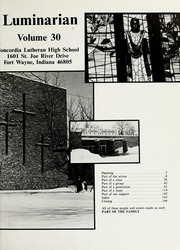 Page 5, 1982 Edition, Concordia Lutheran High School - Luminarian Yearbook (Fort Wayne, IN) online yearbook collection