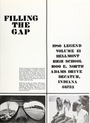 Page 5, 1980 Edition, Bellmont High School - Legend Yearbook (Decatur, IN) online yearbook collection