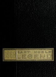 1968 Edition, East Noble High School - Legend Yearbook (Kendallville, IN)