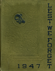1947 Edition, Cridersville High School - Lest We Forget Yearbook (Cridersville, OH)