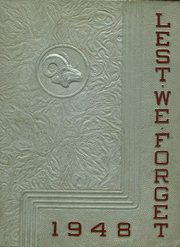 Page 1, 1948 Edition, Cridersville High School - Lest We Forget Yearbook (Cridersville, OH) online yearbook collection