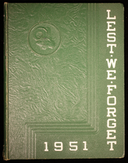 1951 Edition, Cridersville High School - Lest We Forget Yearbook (Cridersville, OH)