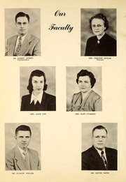 Page 14, 1952 Edition, Cridersville High School - Lest We Forget Yearbook (Cridersville, OH) online yearbook collection