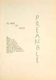 Page 9, 1952 Edition, Cridersville High School - Lest We Forget Yearbook (Cridersville, OH) online yearbook collection