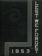 1953 Edition, Cridersville High School - Lest We Forget Yearbook (Cridersville, OH)