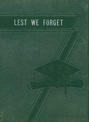 1955 Edition, Cridersville High School - Lest We Forget Yearbook (Cridersville, OH)