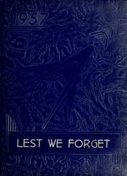 1957 Edition, Cridersville High School - Lest We Forget Yearbook (Cridersville, OH)