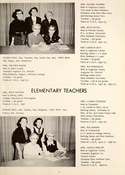 Page 11, 1957 Edition, Cridersville High School - Lest We Forget Yearbook (Cridersville, OH) online yearbook collection