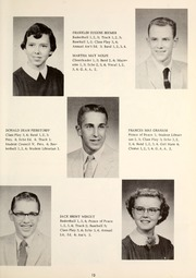 Page 17, 1957 Edition, Cridersville High School - Lest We Forget Yearbook (Cridersville, OH) online yearbook collection