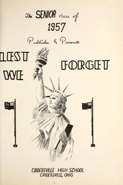 Page 5, 1957 Edition, Cridersville High School - Lest We Forget Yearbook (Cridersville, OH) online yearbook collection