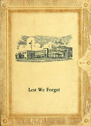 1962 Edition, Cridersville High School - Lest We Forget Yearbook (Cridersville, OH)
