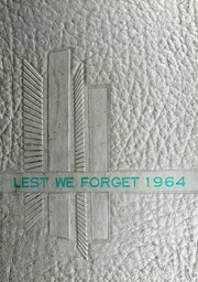 1964 Edition, Cridersville High School - Lest We Forget Yearbook (Cridersville, OH)