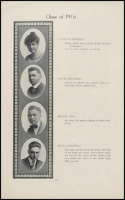 Page 15, 1916 Edition, Geneva High School - Legend Yearbook (Geneva, IN) online yearbook collection