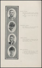 Page 16, 1916 Edition, Geneva High School - Legend Yearbook (Geneva, IN) online yearbook collection