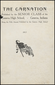 Page 3, 1917 Edition, Geneva High School - Legend Yearbook (Geneva, IN) online yearbook collection