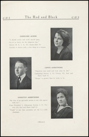 Page 15, 1921 Edition, Geneva High School - Legend Yearbook (Geneva, IN) online yearbook collection