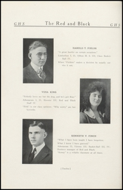 Page 16, 1921 Edition, Geneva High School - Legend Yearbook (Geneva, IN) online yearbook collection