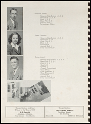 Page 12, 1949 Edition, Geneva High School - Legend Yearbook (Geneva, IN) online yearbook collection