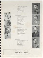 Page 15, 1949 Edition, Geneva High School - Legend Yearbook (Geneva, IN) online yearbook collection