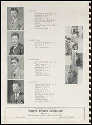 Page 16, 1949 Edition, Geneva High School - Legend Yearbook (Geneva, IN) online yearbook collection