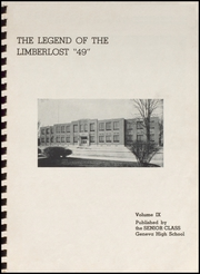 Page 3, 1949 Edition, Geneva High School - Legend Yearbook (Geneva, IN) online yearbook collection