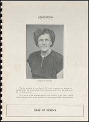Page 5, 1949 Edition, Geneva High School - Legend Yearbook (Geneva, IN) online yearbook collection