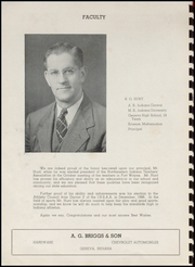 Page 6, 1949 Edition, Geneva High School - Legend Yearbook (Geneva, IN) online yearbook collection