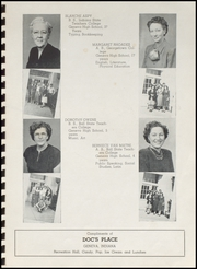 Page 7, 1949 Edition, Geneva High School - Legend Yearbook (Geneva, IN) online yearbook collection