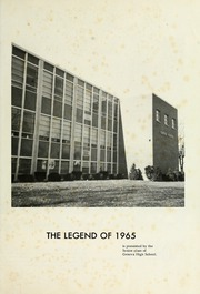 Page 5, 1965 Edition, Geneva High School - Legend Yearbook (Geneva, IN) online yearbook collection