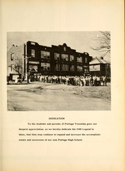 Page 7, 1948 Edition, Portage High School - Legend Yearbook (Portage, IN) online yearbook collection