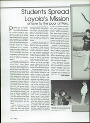 Page 16, 1985 Edition, Loyola Academy - Yearbook (Wilmette, IL) online yearbook collection